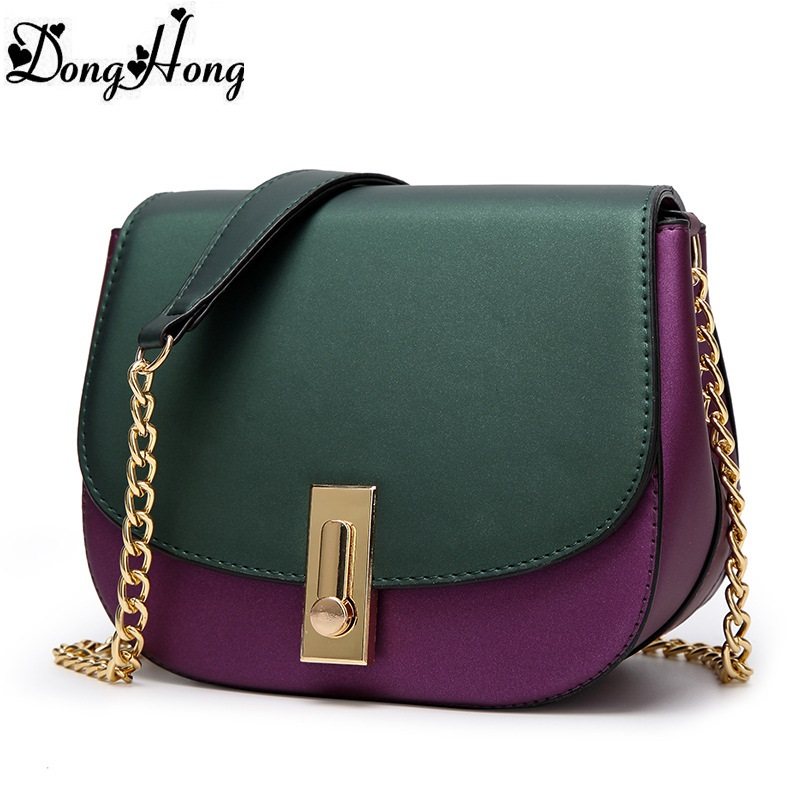Luxury Chains Women Handbags Fashion Genuine Leather Woman Handbag Vintage Shoulder Bags Hit Color Crossbody Bag Famous Totes  fashion vintage women s handbags quality pu leather crossbody bags for teenager girls chains shoulder bag desinger clutch bags