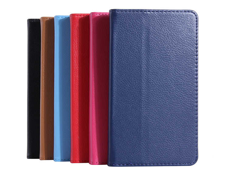 Ultra Slim Litchi Grain 2-Folder Folio Stand PU Leather Skin Cover Case For Lenovo Tab 2 A7-30 A7-30TC A7 30TC A7-30HC 7 Tablet new slim folio bracket for lenovo a7 20f standing tablet cover for lenovo tab 2 a7 20 flip protective tablet case