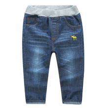Age Three-7 years kids boy spring autumn tender washed denim pants children boy denims pants skinny fashion trousers fine quality