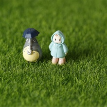 Newest Miniature Garden Ornament DIY Mushroom Craft Pot Fairy Articial Lawn Grass for Wedding Xmas Party Decoration