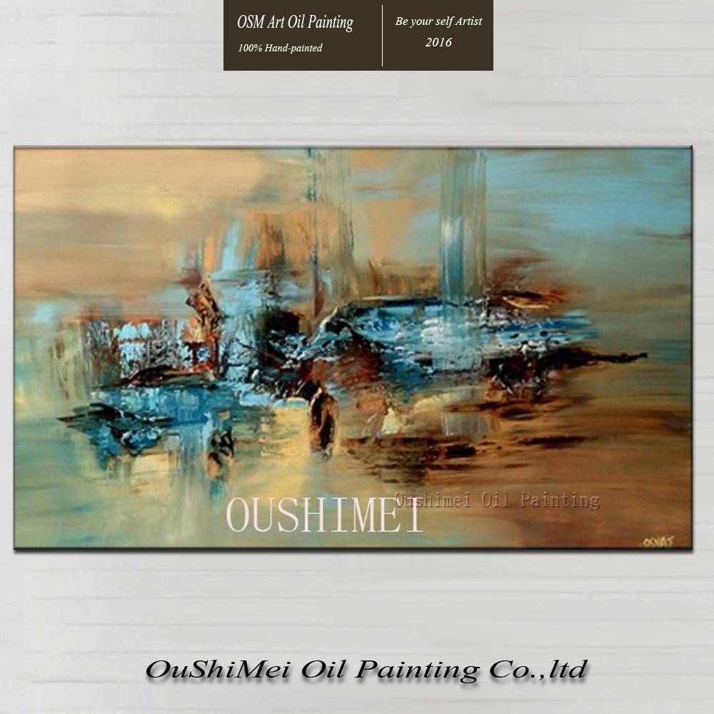 Handmade Abstract Oil Paintings On Canvas Hang Picture
