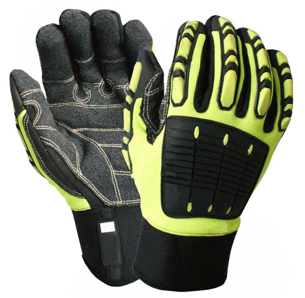 כפפת בטיחות נגד רטט נגד כפפות עמיד - בטיחות וביטחון