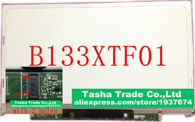 B133xtf01 sin 2 agujeros para acer s3-951 s3-391 s3-2464g pantalla del ordenador portátil lcd b133xtf01.0 b133xtf01.1 b133xw03 v3 b133xtf01.2