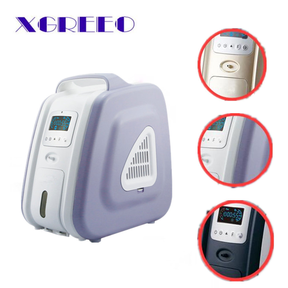 2017 NEW MINI PORTABLE OXYGEN GENERATOR CONCENTRATOR HOME/TRAVEL HEALTH CARE NEW medical and health care portable battery oxygen concentrator 5l 90% purity home car and outdoor travel recommended o2 generator