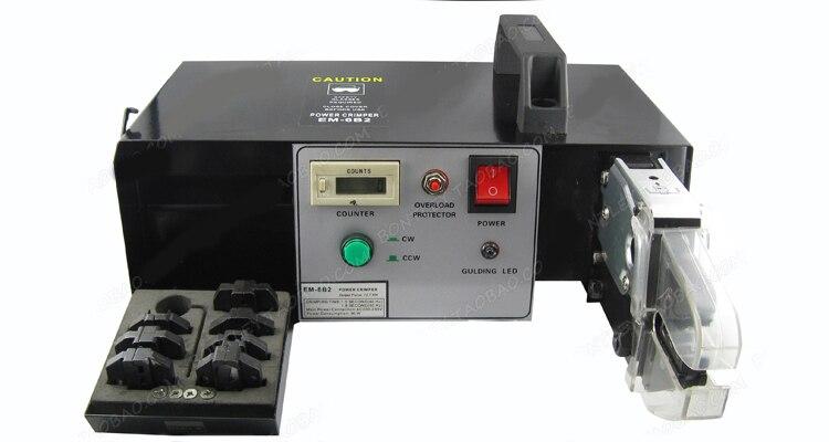 EM 6B2 Электрический обжим машина с сменными штампами наборы обжимной инструмент