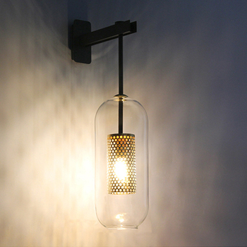 industrial mantle wall lamp