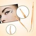 Professional Bend Eyebrow Eye Makeup Brush Lip Eyeliner Eye Brow Brush Makeup Cosmetic Tools