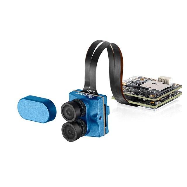 Caddx.us tarsier v2 4 k 30fps 1200tvl lente dupla super wdr wifi mini câmera fpv hd gravação dvr duplo áudio osd para corrida zangão