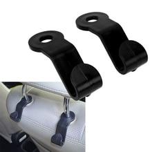 1 Pair Car Headrest Hook Hanger for Bag, Purse, Umbrella