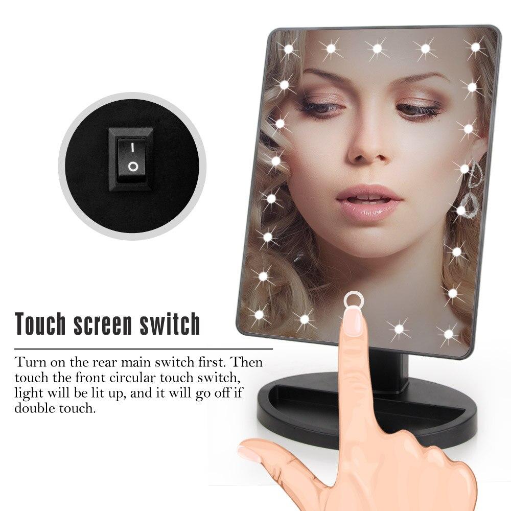 22 Lampu LED Sentuhan Skrin Mekar Cermin Dropshipping Harga Diskaun - Alat penjagaan kulit - Foto 5