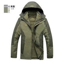 Original Men Women jackets 3 in 1 Outdoor Windbreaker Camping Hiking coats jaqueta for men bomber jackets waterproof Windproof