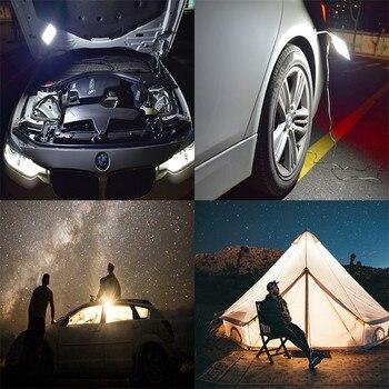 נייד זרקור 12V recargable LED קמפינג אור off road אורות מגנטי בסיס חירום אורות למכוניות תיקון עבודה אור