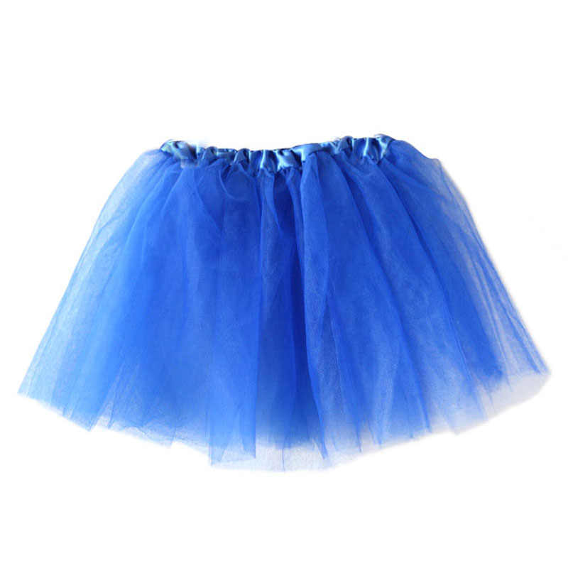 Girl Pretty Elastic Stretchy Tulle 3 Layer Tutu Skirt Party Costume Ballet Princess Pettiskirt Toddler Lace Chiffon