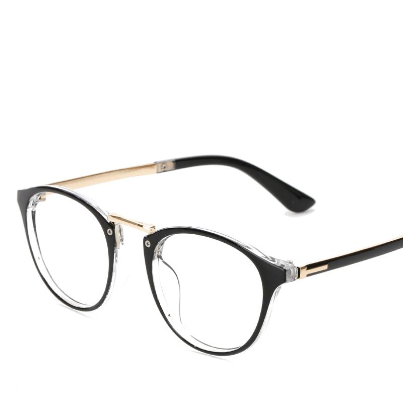 449d4819c00 LONSY 2017 Fashion Pink Round Glasses Frame Women Vintage Retro Optical  Clear Designer Brand Myopia Eyeglasses Frame CJ2206-in Eyewear Frames from  Apparel ...