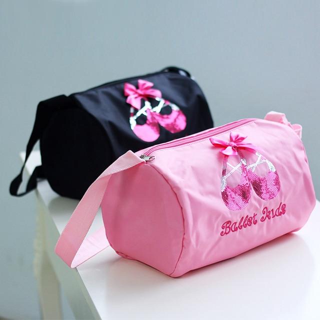 Children Pink Ballet Dance Bag For S Ballerina Kids Cross Body Bags