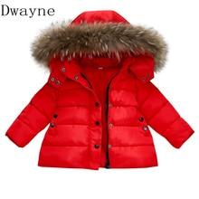 купить New arrival 2019 Children Down Jackets Coats Spring Winter Jacket for girls Boys Clothes Kids Red Coat Baby Clothing girl Parkas по цене 1255.08 рублей