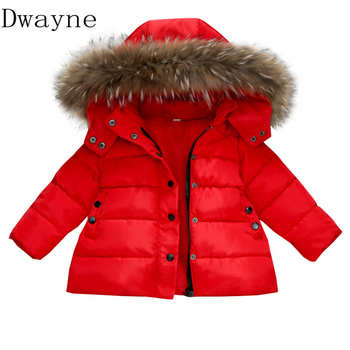New arrival 2019 Children Down Jackets Coats Spring Winter Jacket for girls Boys Clothes Kids Red Coat Baby Clothing girl Parkas 2018 new style toddler baby girls winter down coat infants kids cotton jacket outwear kids clothes children clothing 10 12 years