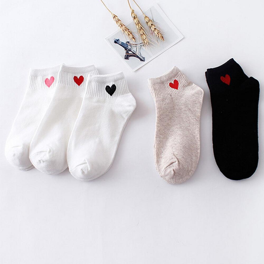 2019 TOP Women Heart-Shaped Fashion Skateboard   Sock   Comfortable   Socks   2.19