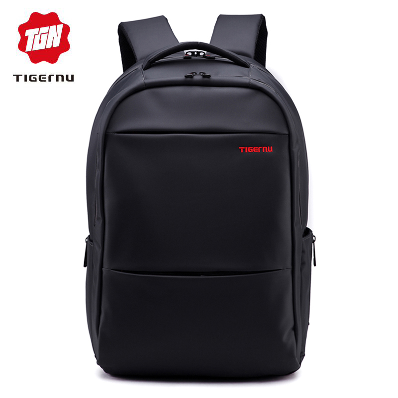 Tigernu Brand Waterproof Men Backpack Business Computer Backpack Bag Women Backpack Men's Laptop Bag Backpack 15.6