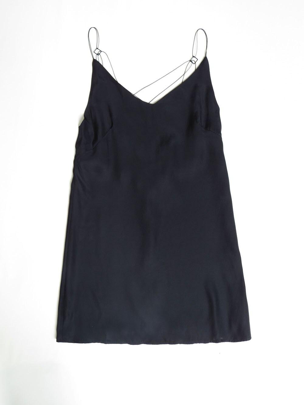 2017 Noir Qualité Piste Haute Sexy De Mini Printemps Strap Été Soie Couleur Dress Blanc 100 Spaghetti OnZRE6Z