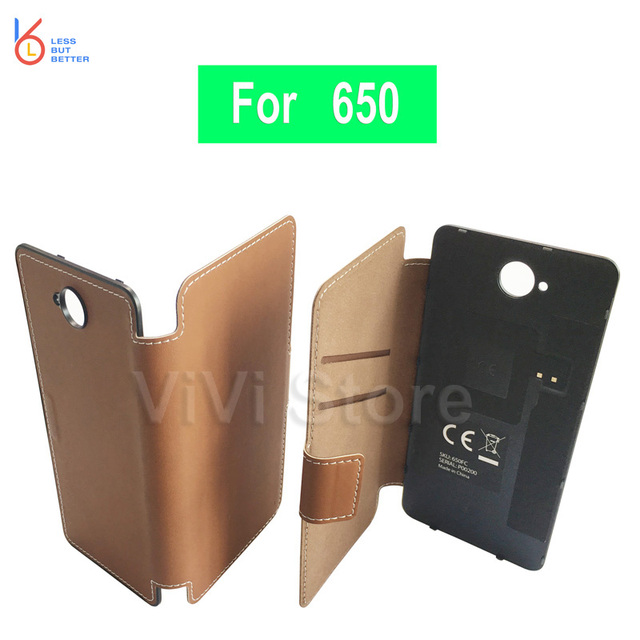 save off 41693 86e11 US $12.74 25% OFF|Genuine Mozo Flip Cover for Microsoft lumia 650 Back  Cover Battery Case for Nolia 650 Rear Housing PU Leather Capa with NFC -in  ...