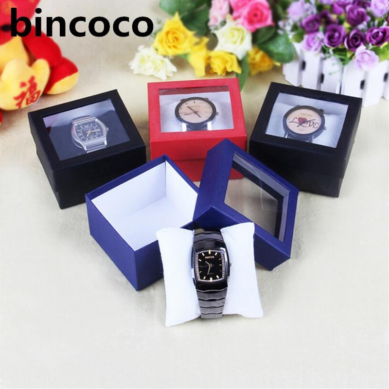 Wholesale Watch Display boxs Slot Case Jewelry Storage Organizer