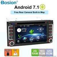 Android 7.1 car dvd player for Toyota Hilux VIOS Old Camry Prado RAV4 Prado 2003 2004 2005 2006 Quad Core