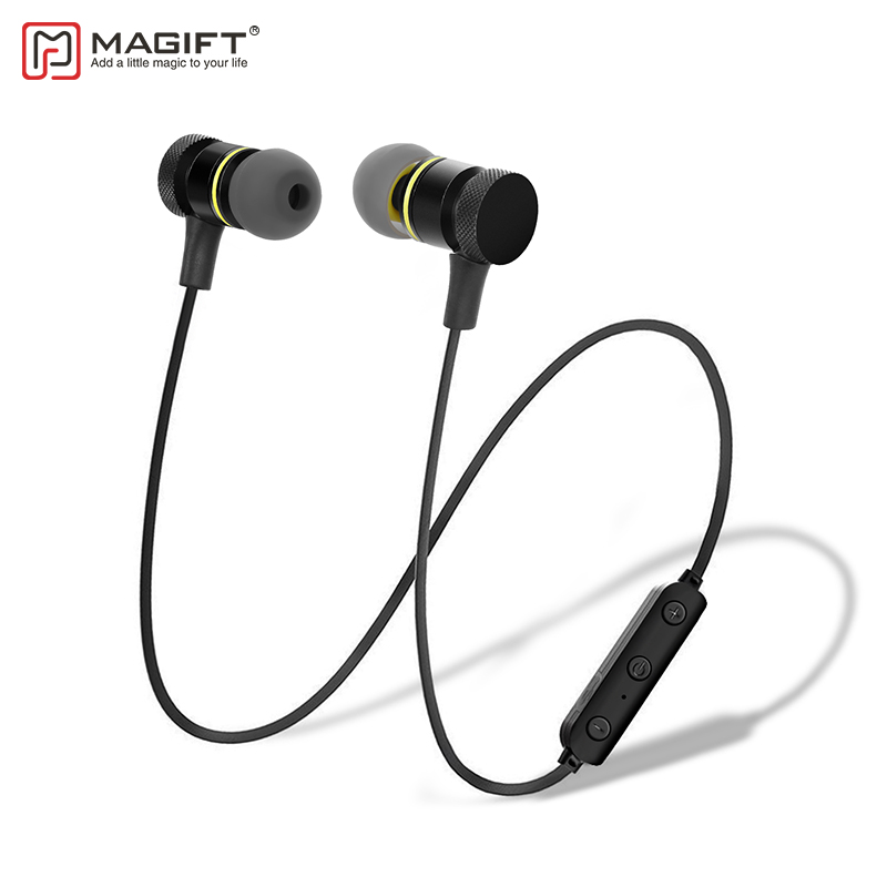 Magift M10 Sports Wireless Bluetooth Headset Headphone Neckband Earbuds Built In Mic Sweat Proof
