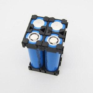 Image 4 - 20 stücke 18650 Lithium Batterie Kombination Halter Schnalle Batterie Pack Halter Zylindrischen Li ionen zelle Leuchte Halterung Teil 1 P 18,5 MM