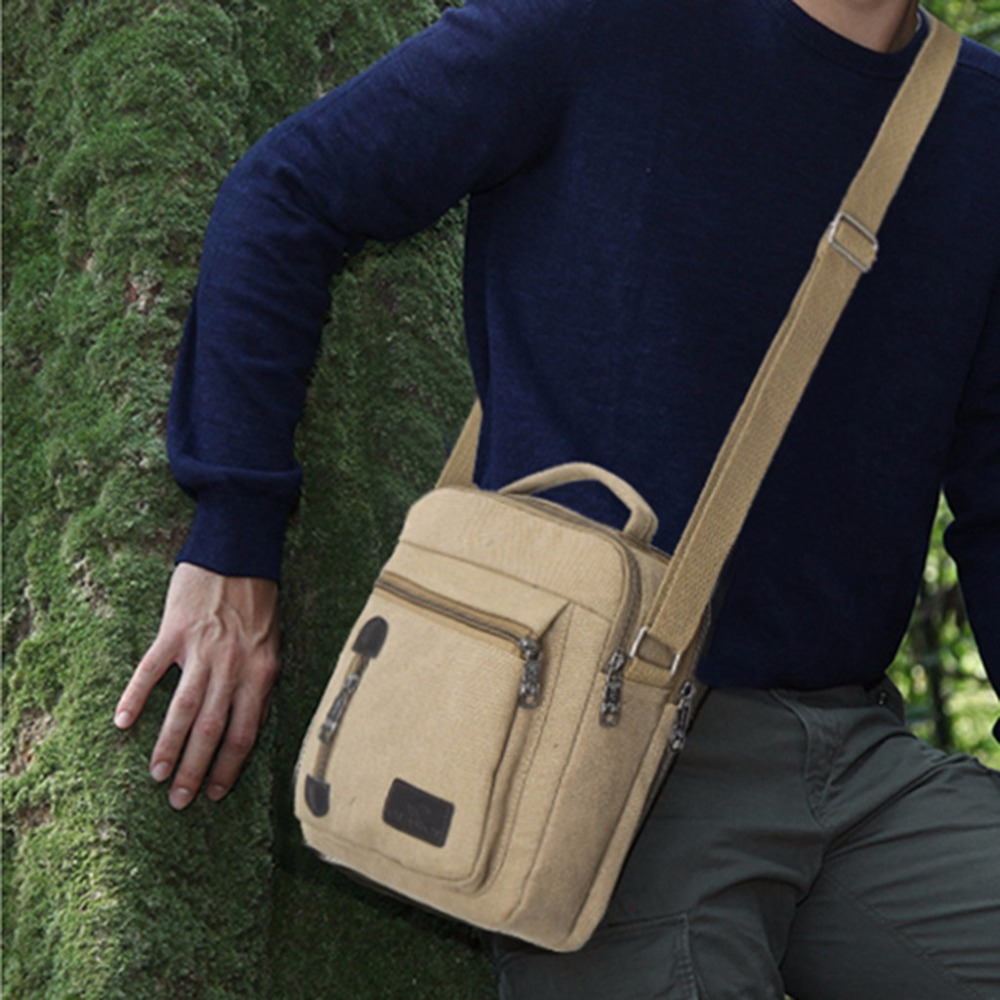 Neue 2019 Männer Hohe Qualität Multi-funktion Casual Geschlungen Tasche Männer Schulter Tasche Männer Messenger Tasche Mode-business Simpl