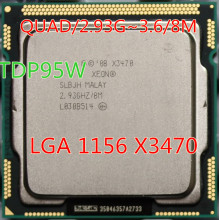 Xeon X3470 uesd CPU LGA1156 socket/2,93 GHz ~ 3,6 ghz/8 Mt/95 Watt//Quad-Core prozessor Dispersible tabletten cpu