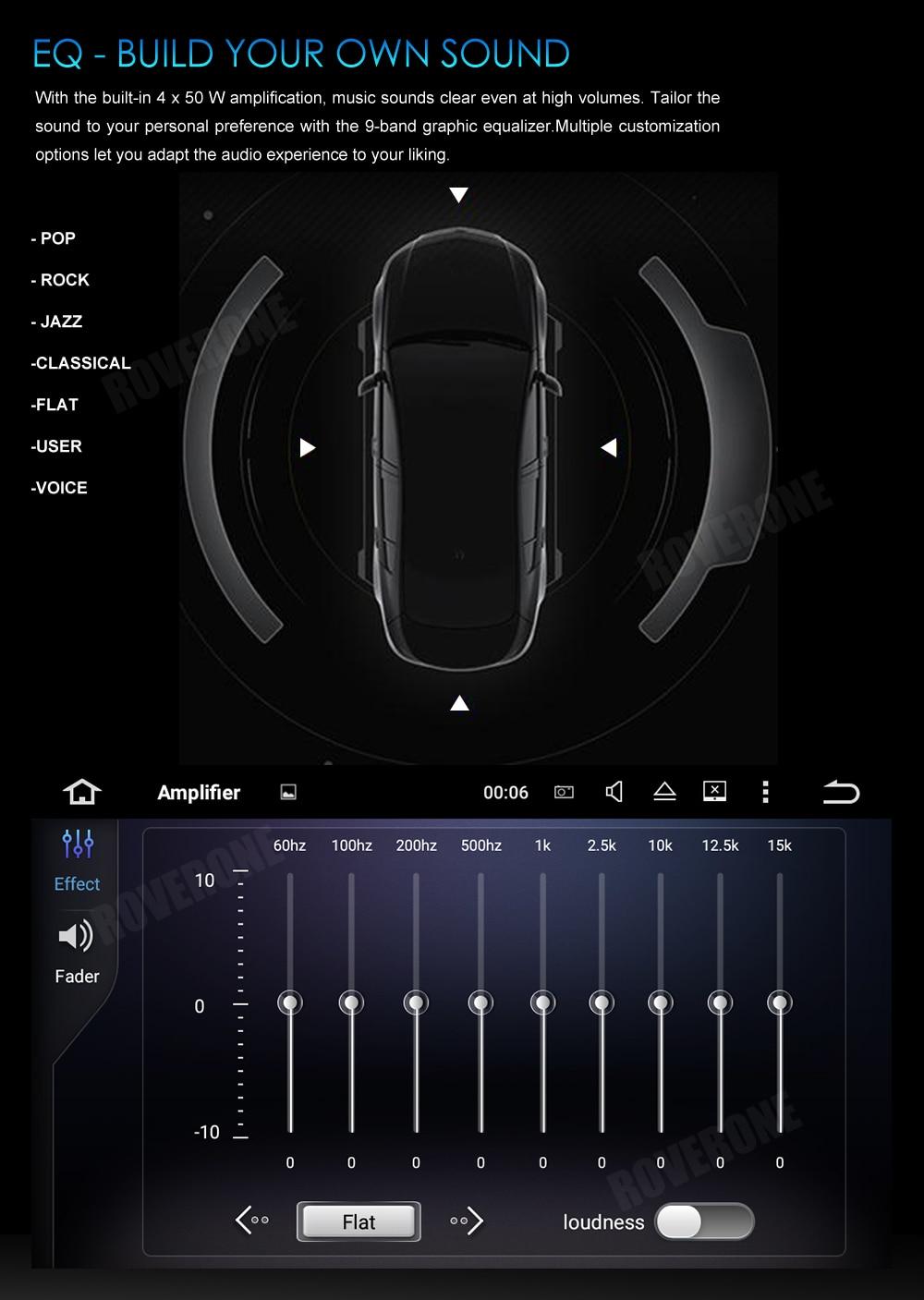 Excellent RoverOne Car Multimedia Player For Fiat Fiorino Qubo For Citroen Nemo For Peugeot Bipper Android 9.0 Octa Core Radio Navigation 21