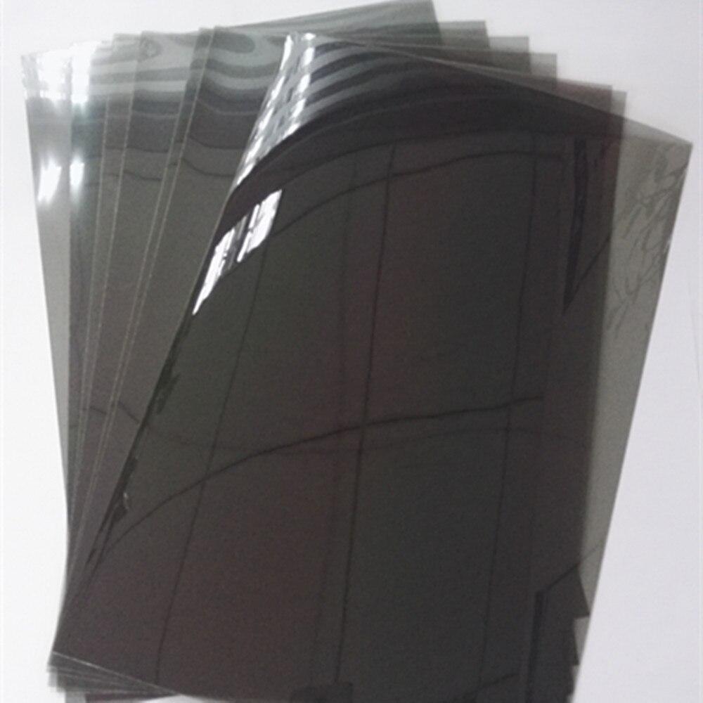 20 pièces Packs 30*20 CM Horizontale 0 degré Linéaire Polariseur Film Filtre Polarisé Linéaire polarisée feuille de film-in 3D Lunettes/Lunettes de Réalité Virtuelle from Electronique    2