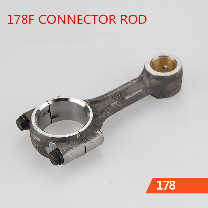 цена на 178F Connecting Rod,Conrod,diesel engine and single-cylinder air-cooled diesel generators parts,fit for KAMA AND CHINA GENERATOR