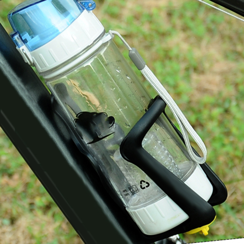 Outdoor Cycling Bike Bicycle Sport Water Bottle Rack Drinks Plastic Holder Safe