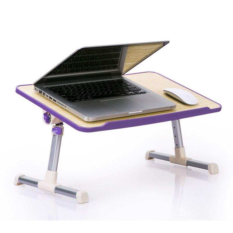 Prosty stolik na laptopa łóżko biurko studenci dormitorium czytanie studia biurko składane podnoszenie biurko komputerowe mały stół