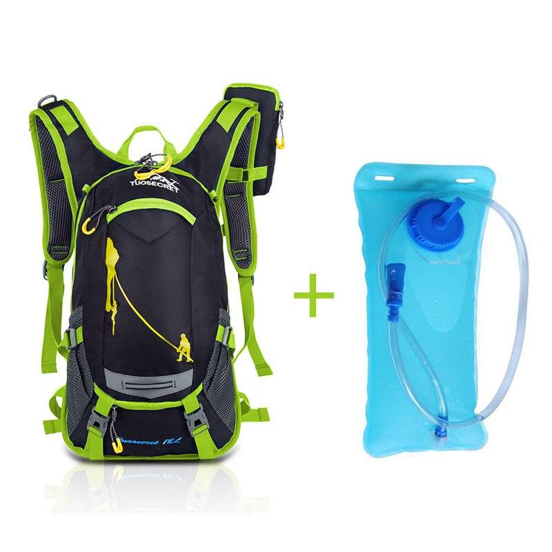 Green water bag