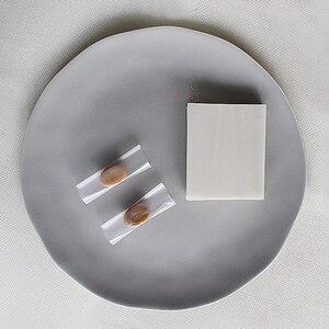 Image 5 - 500 枚ヌガー包装紙食用もち米紙ベーキングキャンディー紙キャンディ透明もち米紙