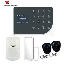 YoBang Security WiFi GSM GPRS Wireless Security Alarm System Door Window PIR Mobile Sensor Android IOS