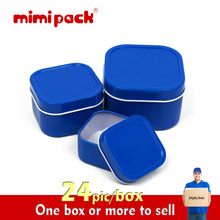 Mimi Pack gift packaging fashion tin cans sealed candy box square tin snack cans