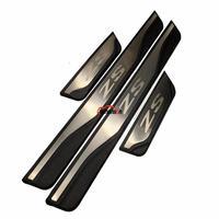 Car Styling Styling For Mg Zs 2017 2019 Car Accessories Stainless Steel Door Sill Trim Scuff Paltes Protector Guard Car Stickers