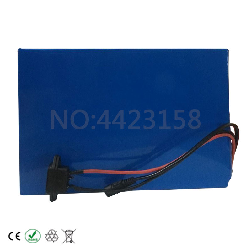 Perfect Big Capacity 48 Volt Batteries 48V 20Ah Li-ion Battery for Electric Bike with PVC case Built in 13S 30A BMS + 2A CC/CV Charger 6