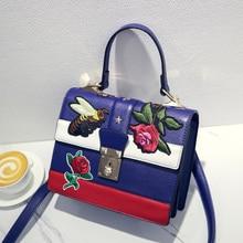 Сумки женские топ-ручка сумки кожаные сумки женщины известный бренд вышитые сумки звезда тигр глава crossbody сумка роскошные tote G мешок