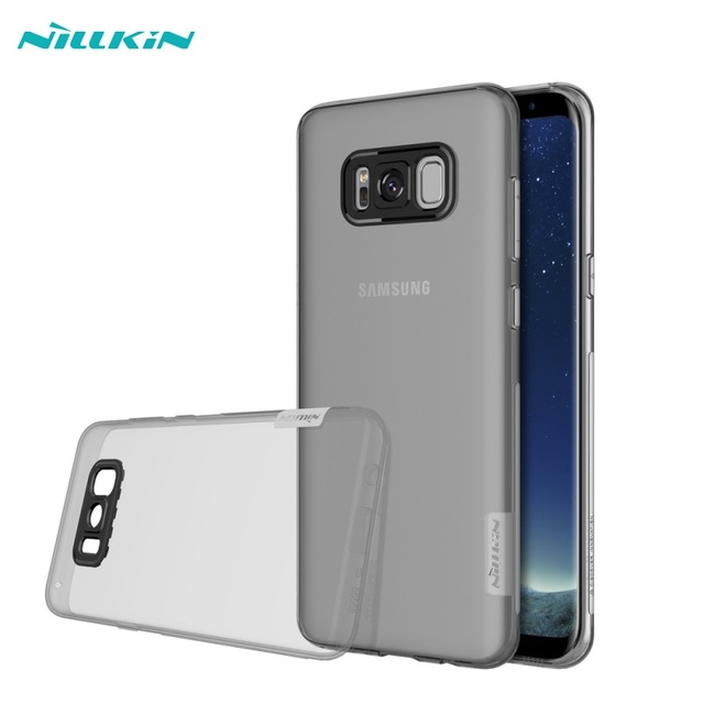 NILLKIN Nature for Samsung S8 S8 Plus S8plus Cases Soft Gel TPU Case for Galaxy S 8 S8+ SM-G950 G955 Smartphone Back Cover