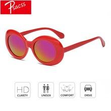 Psacss Oval Vintage Sunglasses For Children Cute Goggle High Quality Sun Glasses Boys Girls Luxury Brand Designer Eyewear oculos