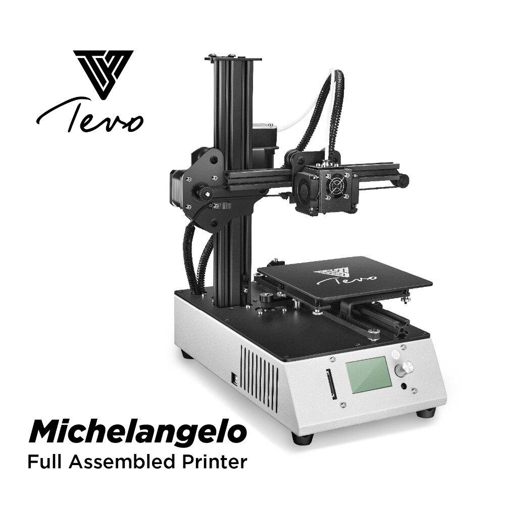 TEVO Michelangelo 3D imprimante Kit entièrement assemblé en métal haute précision Impresora 3D Machine d'impression avec extrudeuse Titan