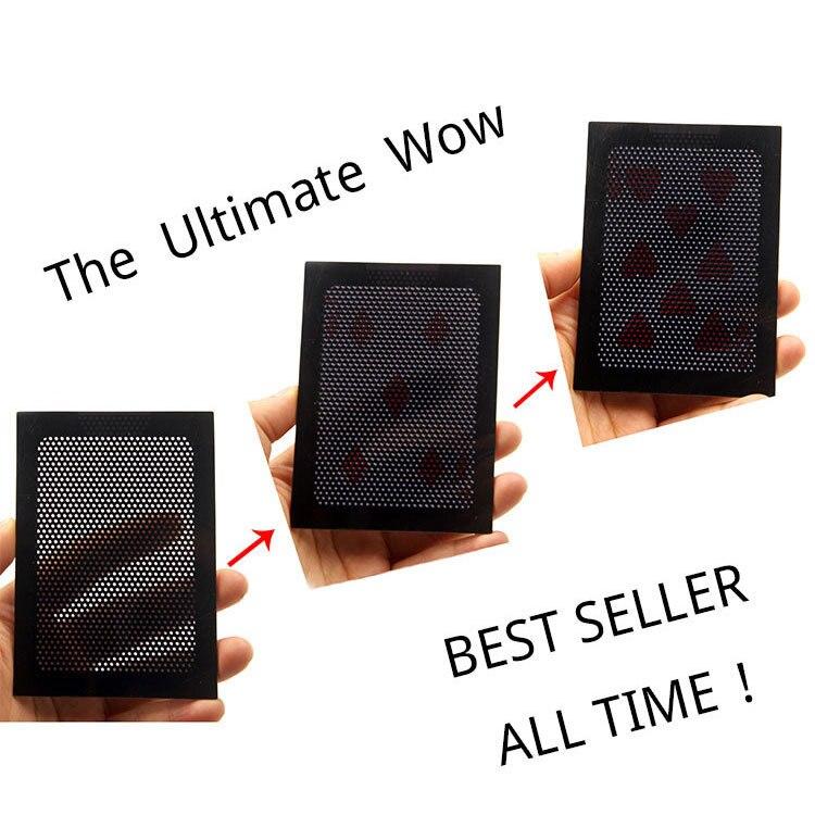 New Face-Up By Katsuya Masuda Funny Poker Card Gimmick Magic Tricks Prop Vanish Illusion Change Sleeve Close-Up Street