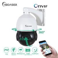 WOASER IR CUT Onvif P2P Outdoor Security Camera 4 MP 10X ZOOM 50M IR Distance