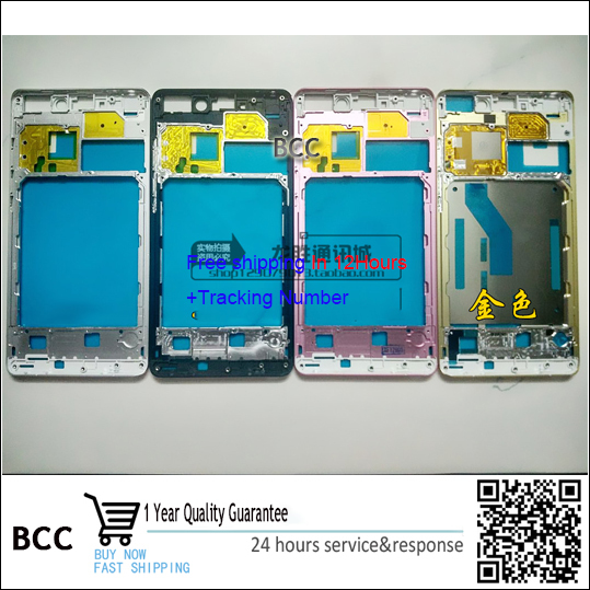 Original White,Black or golden Middle frame housing cover For xiaomi mi note mi note pro