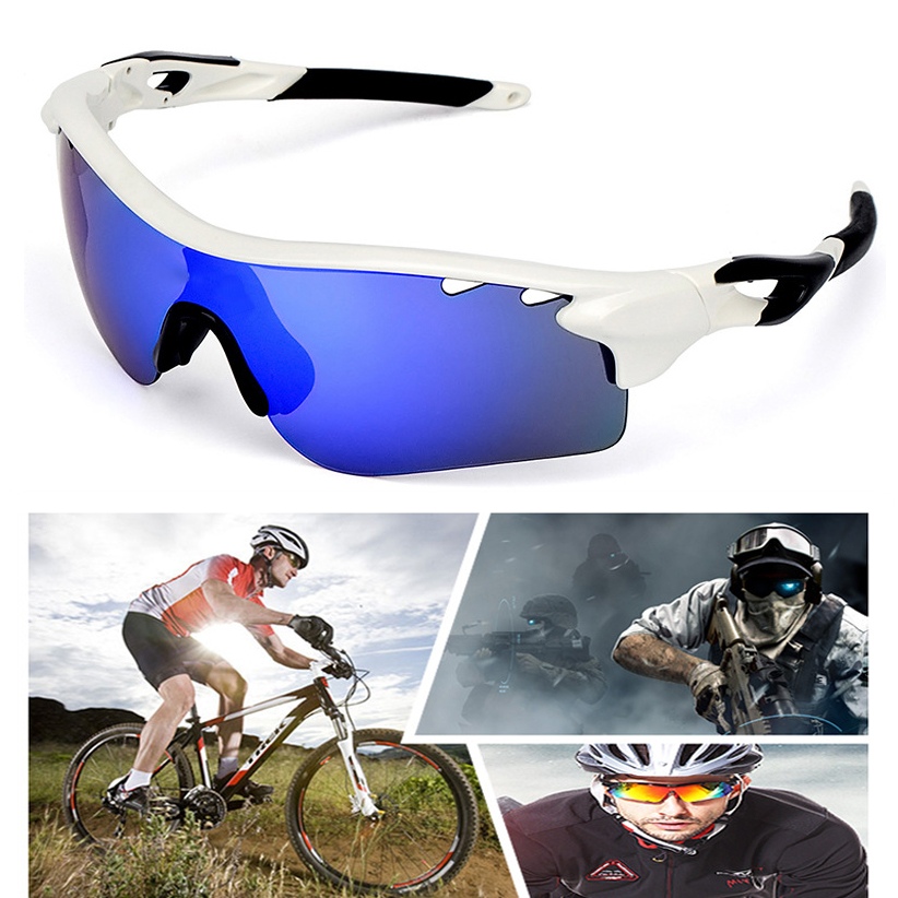 Cycling Eyewear 5 Lens Polarized Sun Glasses Outdoor Sports Bicycle Glasses Bike Sunglasses Goggles Eyewear Men Women hot sale outdoor sports bicycle eyewear al mg polarized light men s new cycling sunglasses